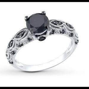 Wedding right black diamonds